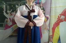 Ханбок — традиционный костюм. Женский вариант