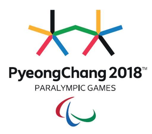 Южная Корея Паралимпийские игры эмблема Пхёнчхан 2018