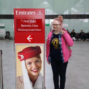 Emirates. В Сеул через пустыню