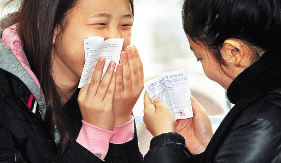 South Korea Южная Корея экзамен результаты