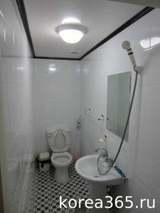 Южная Корея туалет ванная комната