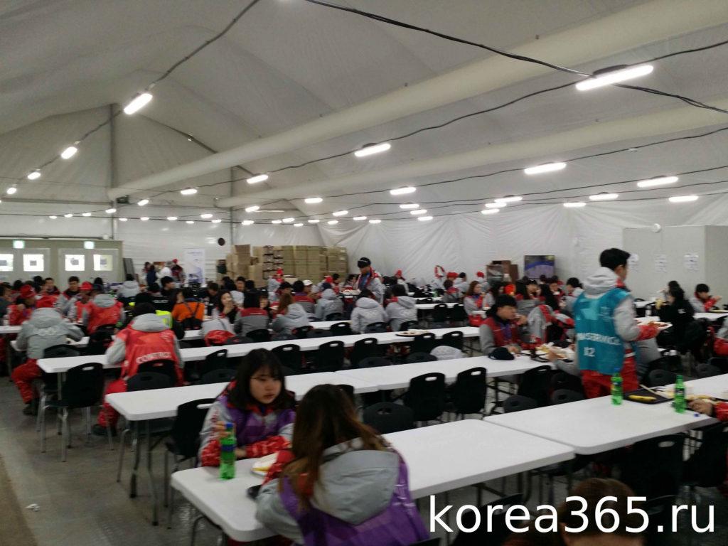 Южная Корея Олимпийский игры 2018 Пхёнчхан 2018 волонтеры