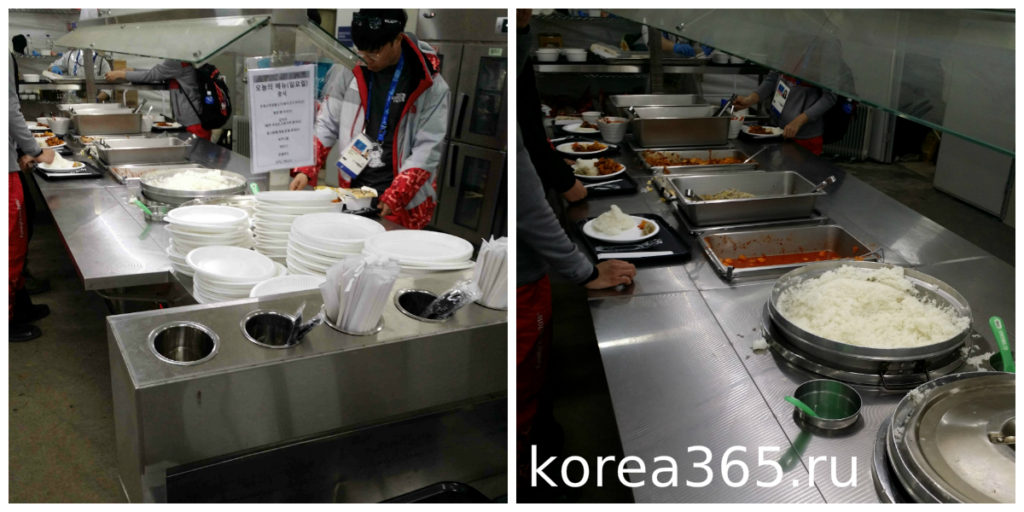 Южная Корея Олимпийский игры 2018 Пхёнчхан 2018 волонтеры корейская еда