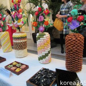 Фестиваль корейских сладостей и чая в Санкт-Петербурге