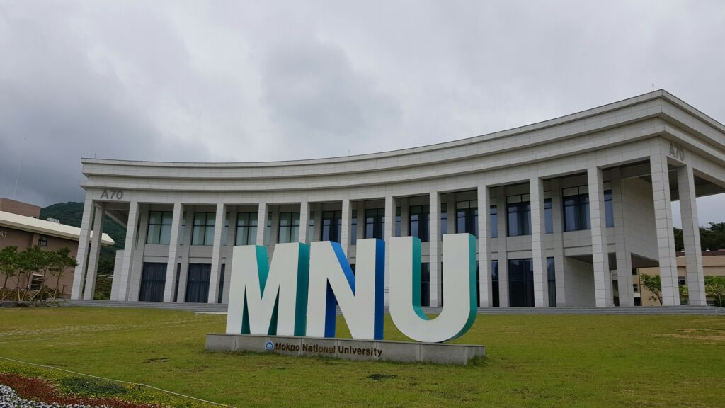 MNU Mokpo National University Korea South Korea Корея Южная Корея Мокпо Университет