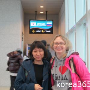 В Корею Аэрофлотом
