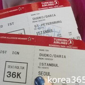 В Сеул через Стамбул